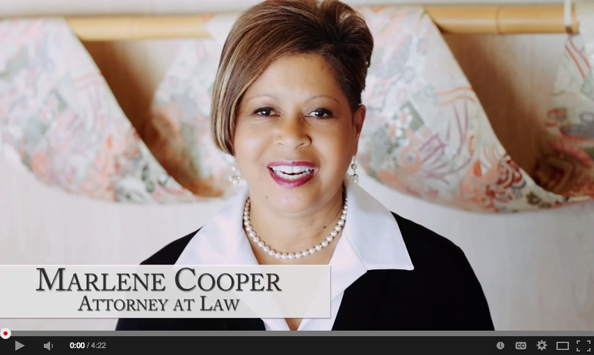 Marlene Cooper Introduction Video